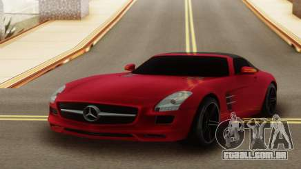 Mercedes-Benz SLS AMG Roadster para GTA San Andreas