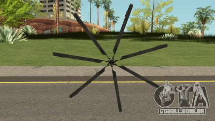 Blackout Sword para GTA San Andreas