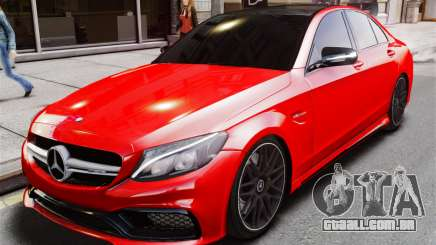 Mercedes-Benz C63s AMG para GTA 4
