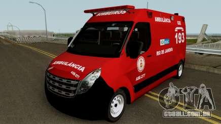 Renault Master of CBMERJ para GTA San Andreas