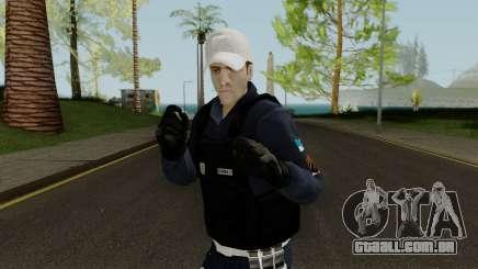Brazilian Police Skin 2 para GTA San Andreas