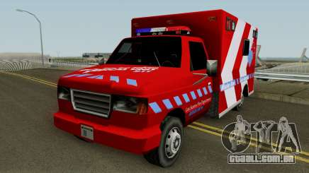 Ambulance: Mission Row San Andreas para GTA San Andreas