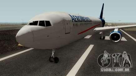 Boeing 767-300 Aeromexico para GTA San Andreas