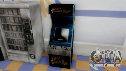 Fighting Arcade Cabinets para GTA San Andreas