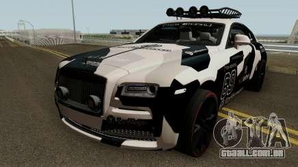 Jon Olsson Rolls Royce Wraith para GTA San Andreas