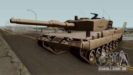 Leopard 2A4 (Ejercito de Chile) para GTA San Andreas