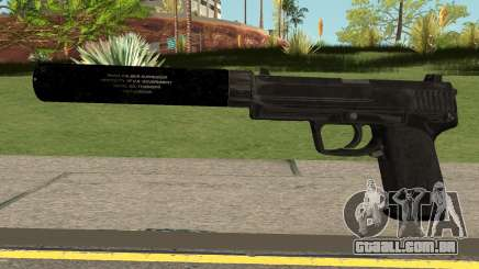 COD-MWR USP45 Suppressed para GTA San Andreas