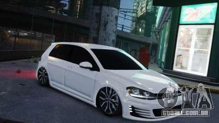 Volkswagen Golf White para GTA 4