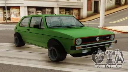Volkswagen GTI para GTA San Andreas