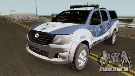 Toyota Hilux SRV 2016 DEAM COORPIN para GTA San Andreas