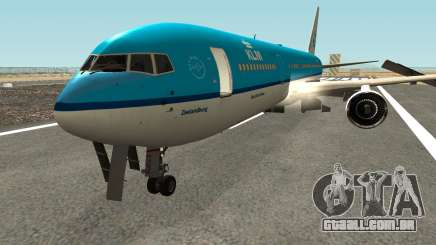 Boeing 767-300 KLM Livery para GTA San Andreas