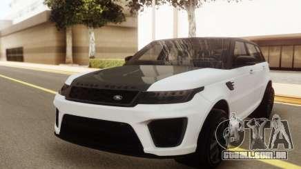 Range Rover SVR 2018 para GTA San Andreas