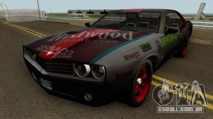 Dodge Challenger SRT Redwood (Gauntlet) 2012 para GTA San Andreas
