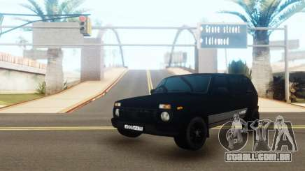 VAZ 2131 Black Edition para GTA San Andreas