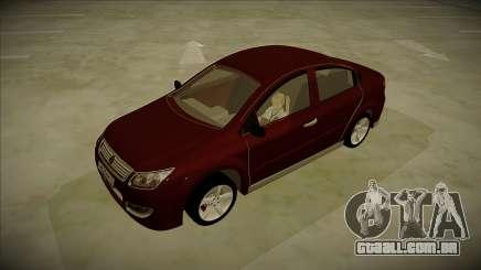 Chery A3 Sedan 2013 V2 para GTA San Andreas