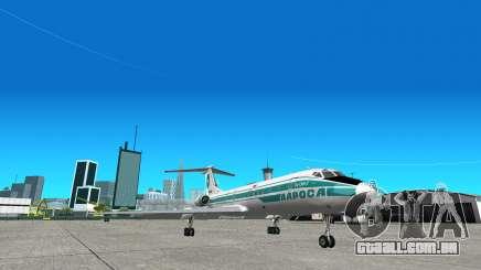 TU-134 ALROSA para GTA San Andreas