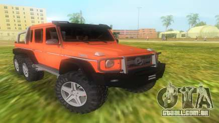 A Mercedes-Benz G63 AMG 6X6 para GTA Vice City