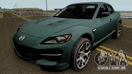Mazda RX-8 HQ para GTA San Andreas