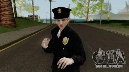 GTA Online Random Skin 10 LSPD Metro Officer para GTA San Andreas