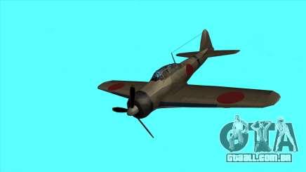 Rustler - A6M Zero para GTA San Andreas