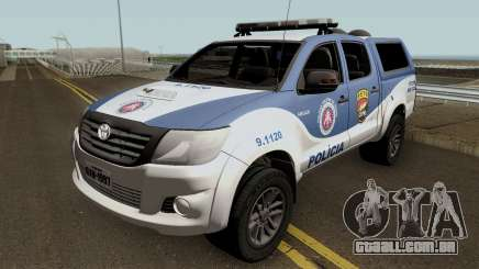 Toyota Hilux 2015 PETO CIPM para GTA San Andreas