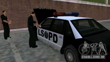 O renascimento da delegacia de polícia LSPD para GTA San Andreas