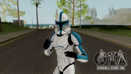 Clone Trooper Blue (Star Wars The Clone Wars) para GTA San Andreas