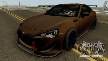 Subaru BRZ HQ para GTA San Andreas
