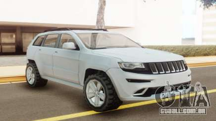 Jeep Grand Cherokee SRT 2014 White para GTA San Andreas
