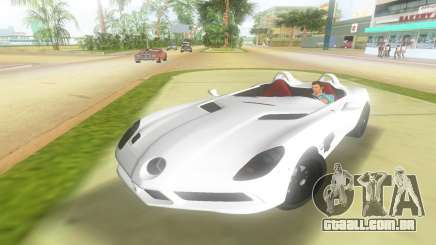 2008 Mercedes-Benz SLR Moss para GTA Vice City