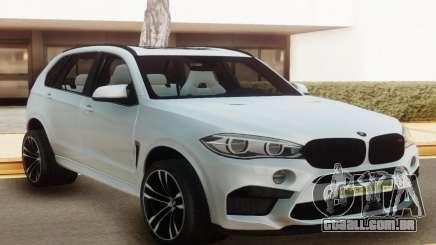 BMW X5M Offroad White para GTA San Andreas