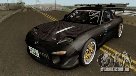 Mazda RX-7 FD3s Touge Warior - Black Brother para GTA San Andreas