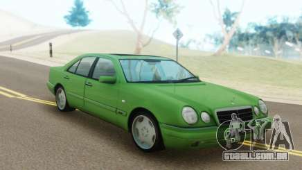 Mercedes-Benz E55 W210 Green para GTA San Andreas