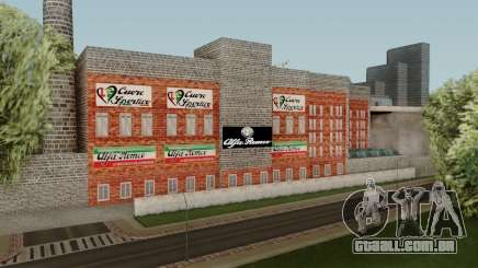 Alfa Romeo Factory para GTA San Andreas