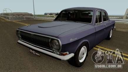 GAZ 24 Volga Stock para GTA San Andreas