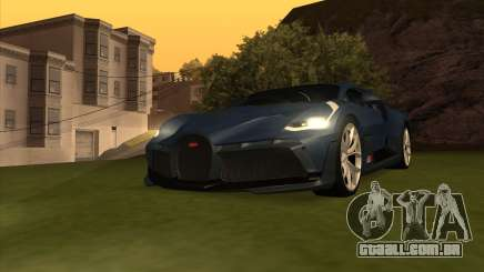 Bugatti Divo 2018 para GTA San Andreas
