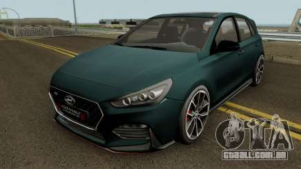 Hyundai I30 2017 para GTA San Andreas