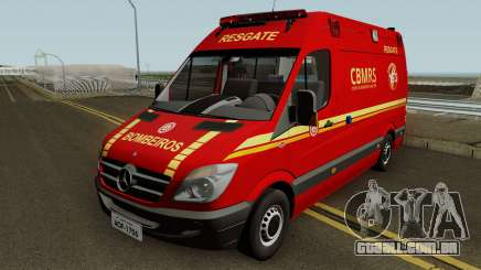 Mercedes-Benz Sprinter Ambulance (CBMRS) para GTA San Andreas