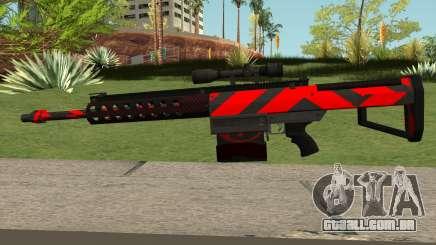 New Sniper Rifle (Red) para GTA San Andreas