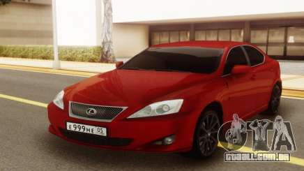 Lexus IS 250 V6 para GTA San Andreas