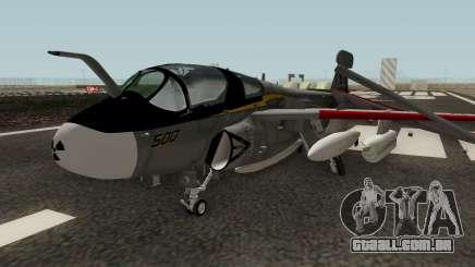 EA-6B Prowler Grey para GTA San Andreas