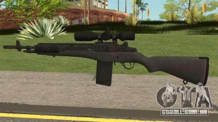 COD-MWR M14 Sniper para GTA San Andreas
