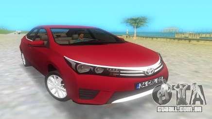Toyota Corolla 2014 para GTA Vice City