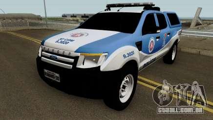 Ford Ranger 2014 - CIPM Serra Dourada para GTA San Andreas
