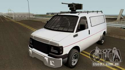 Vapid Speedo Custom And Armored GTA V IVF para GTA San Andreas