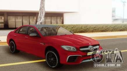 Mercedes-Benz E63S para GTA San Andreas