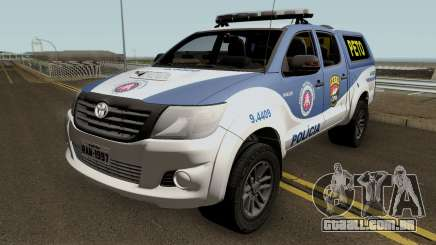 Toyota Hilux 2015 PETO CIPM PMBA para GTA San Andreas