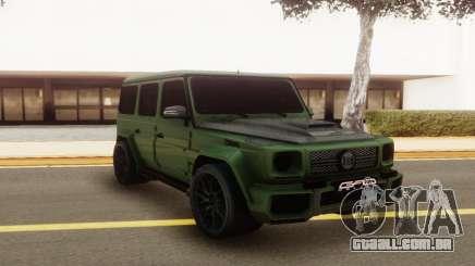 Mercedes-Benz G63 GAD para GTA San Andreas