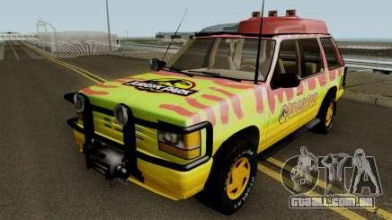 Ford Explorer - Jurassic Park v2 para GTA San Andreas