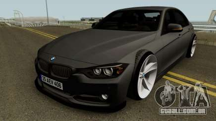 BMW M3 F30 HQ para GTA San Andreas